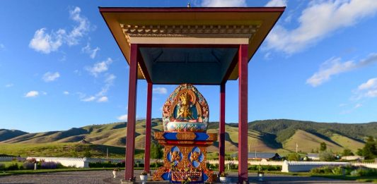 The Garden of a Thousand Buddhas